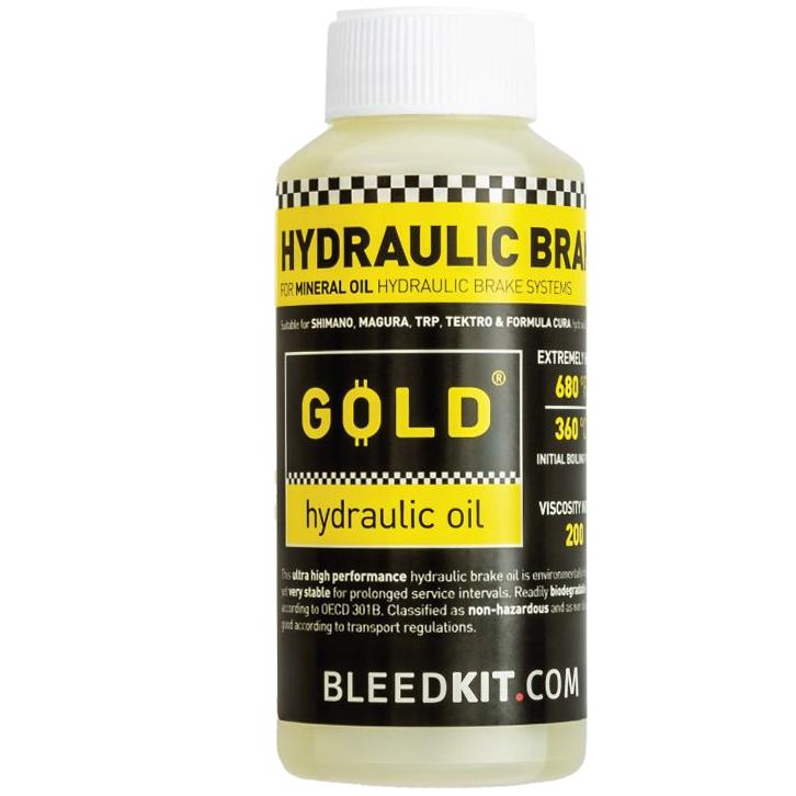 BLEEDKIT.COM Mineral Oil GOLD - 100ml
