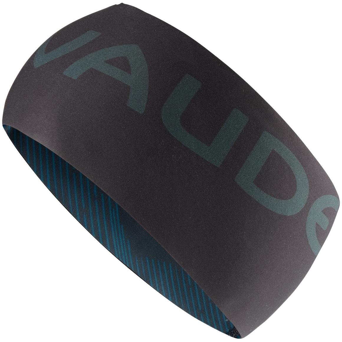 Vaude Logo Stirnband II - schwarz