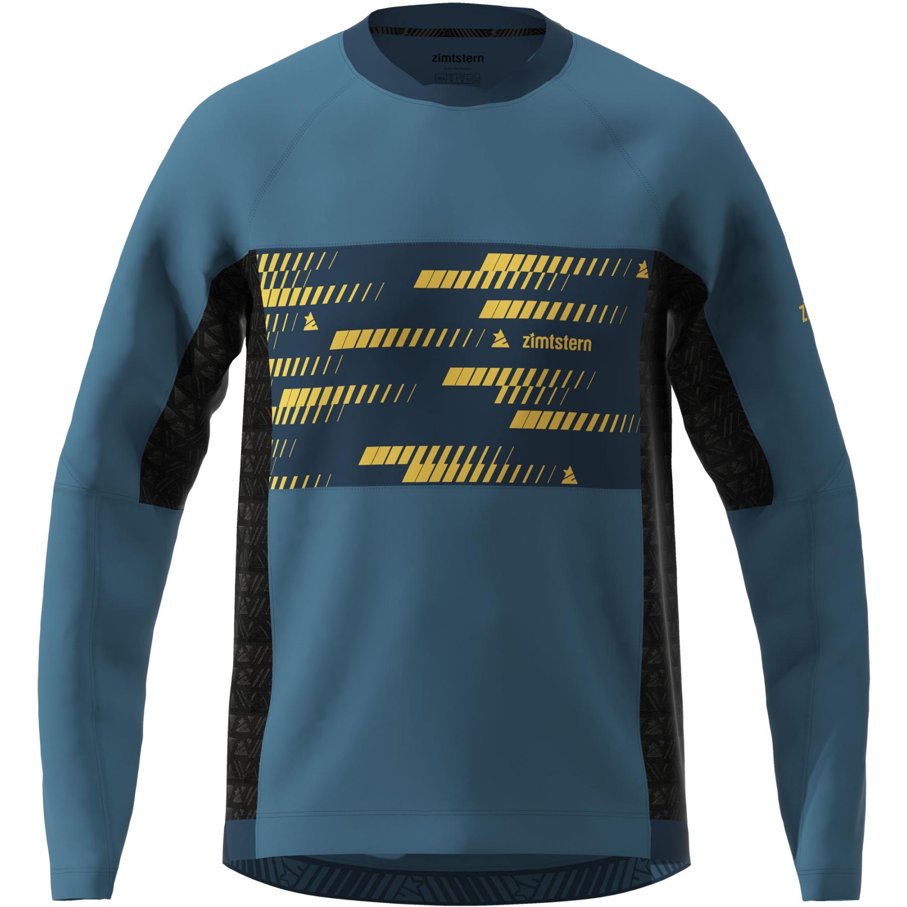 Zimtstern TechZonez Langarm-Shirt - blue steel/french navy