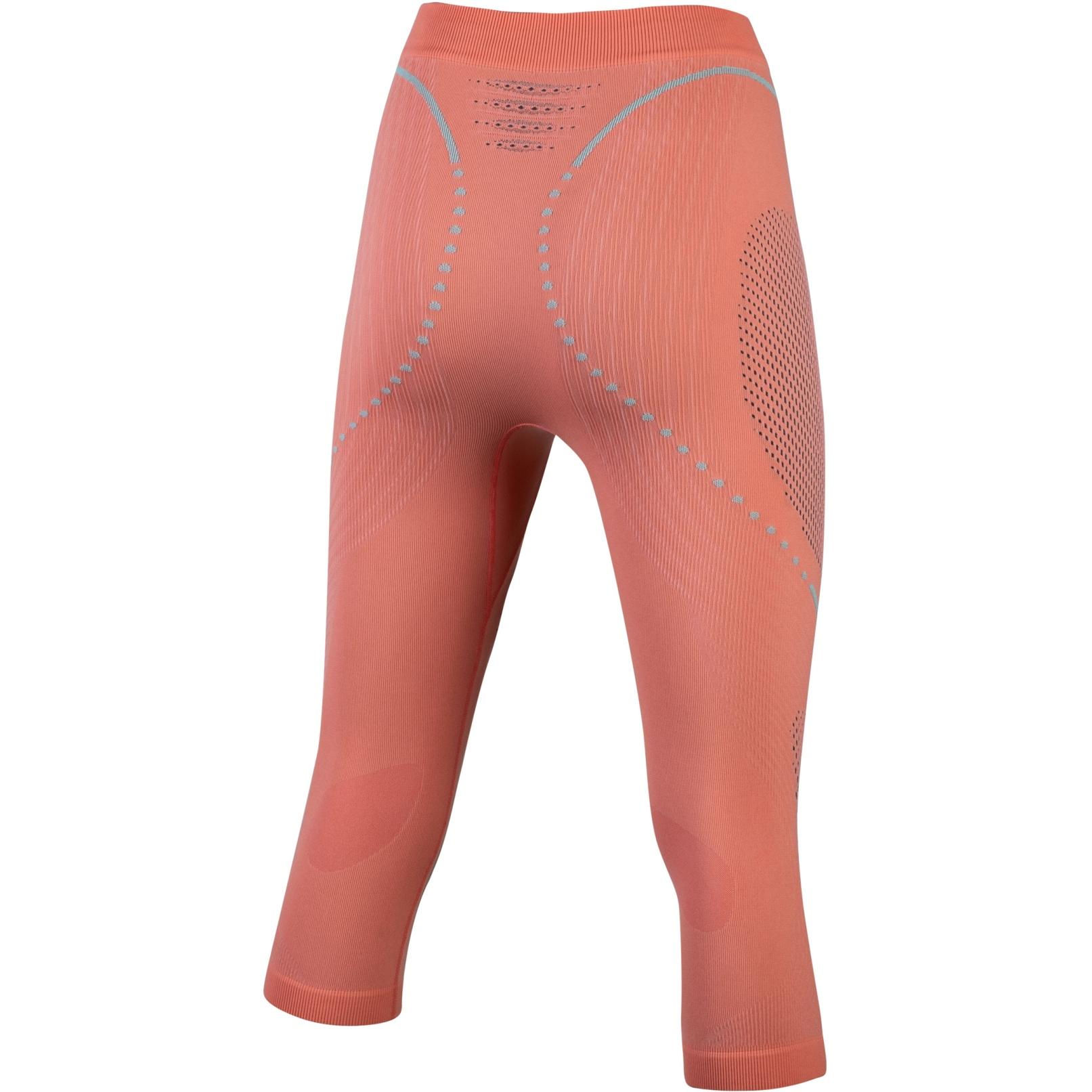 Image of UYN Evolutyon Underwear Pants Medium Women - Coral/Anthracite/Aqua