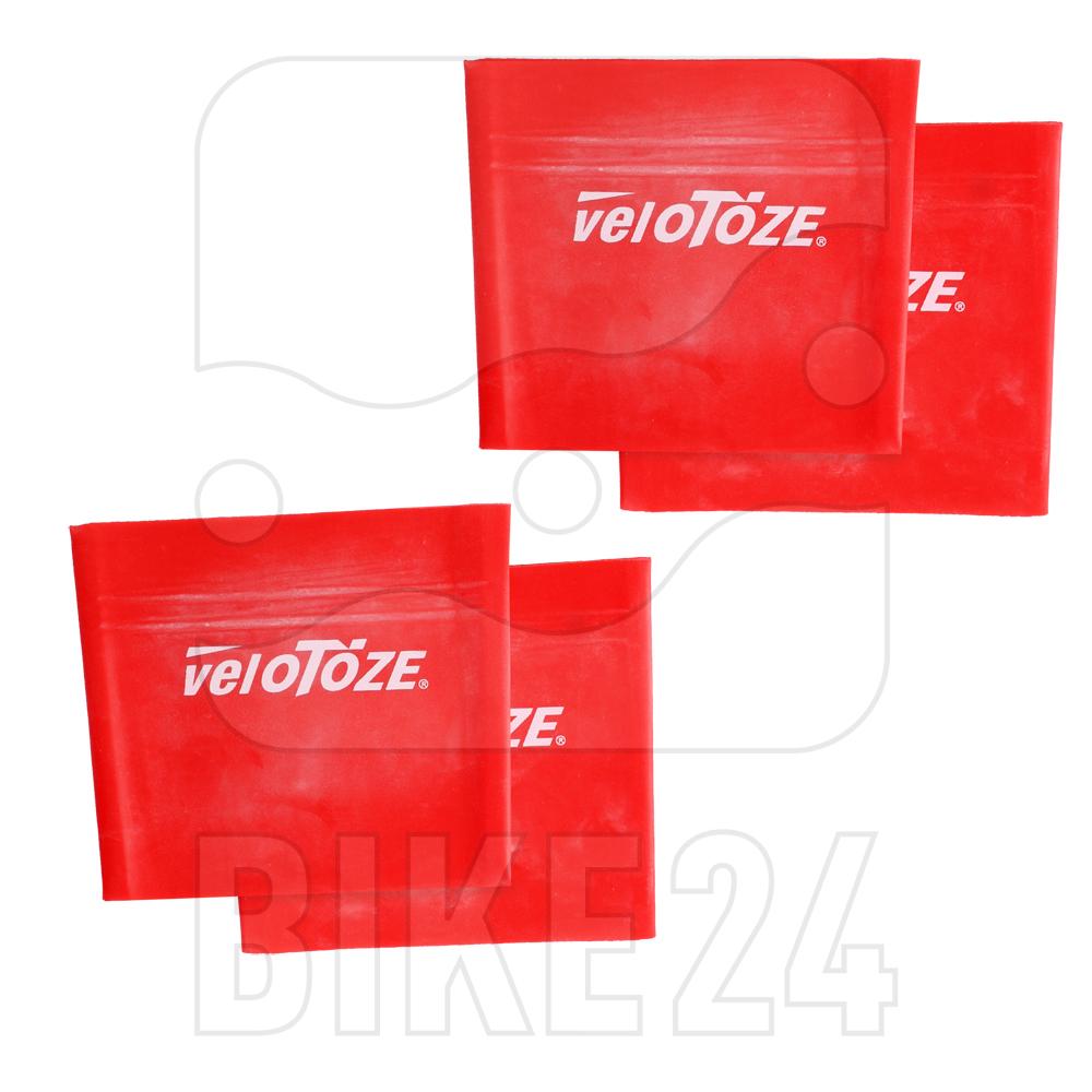 veloToze Waterproof Cuff - red