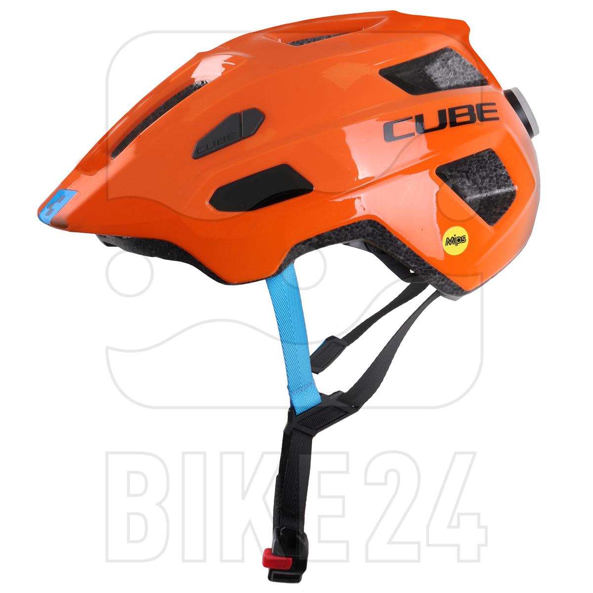 CUBE Helmet LINOK X Actionteam - orange