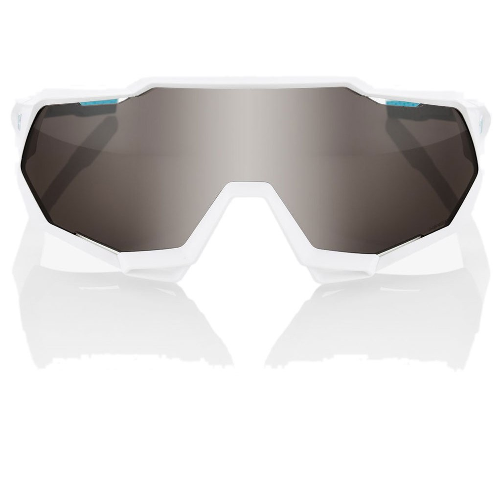 Image of 100% Speedtrap HiPER Silver Mirror Lens - BORA-hansgrohe Special Edition - Team White
