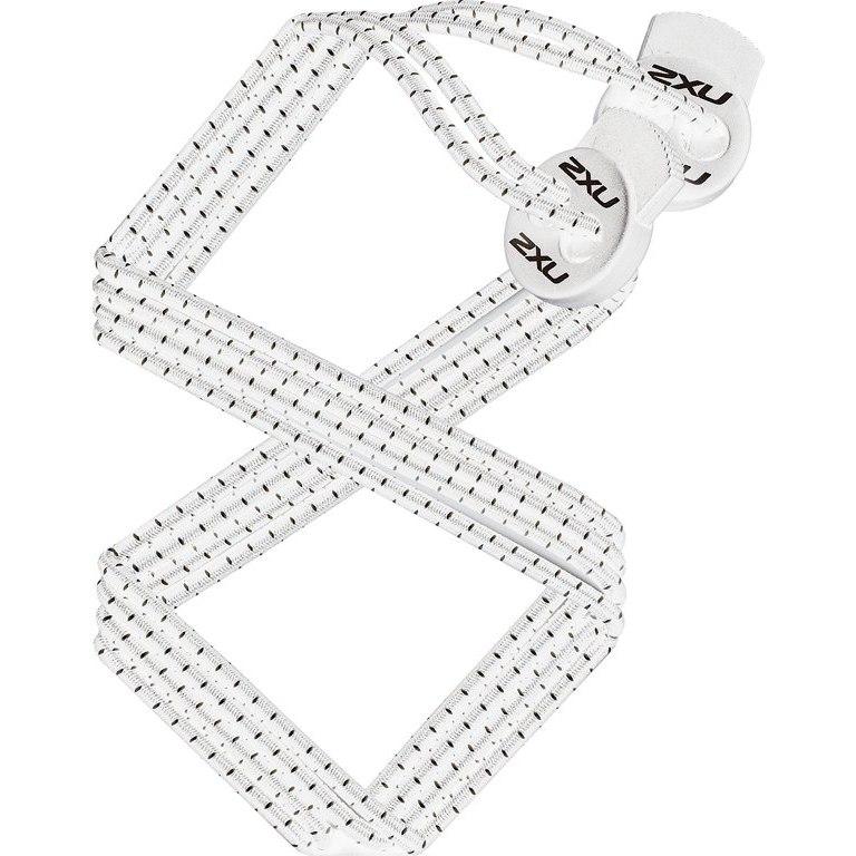 2XU Performance Locked Lace - white