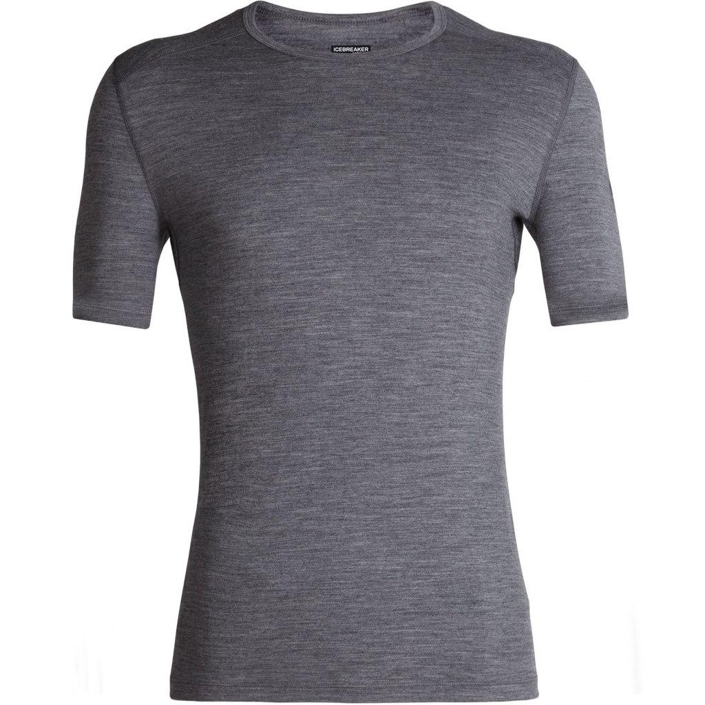 Produktbild von Icebreaker 200 Oasis Crewe Herren T-Shirt - Gritstone HTHR