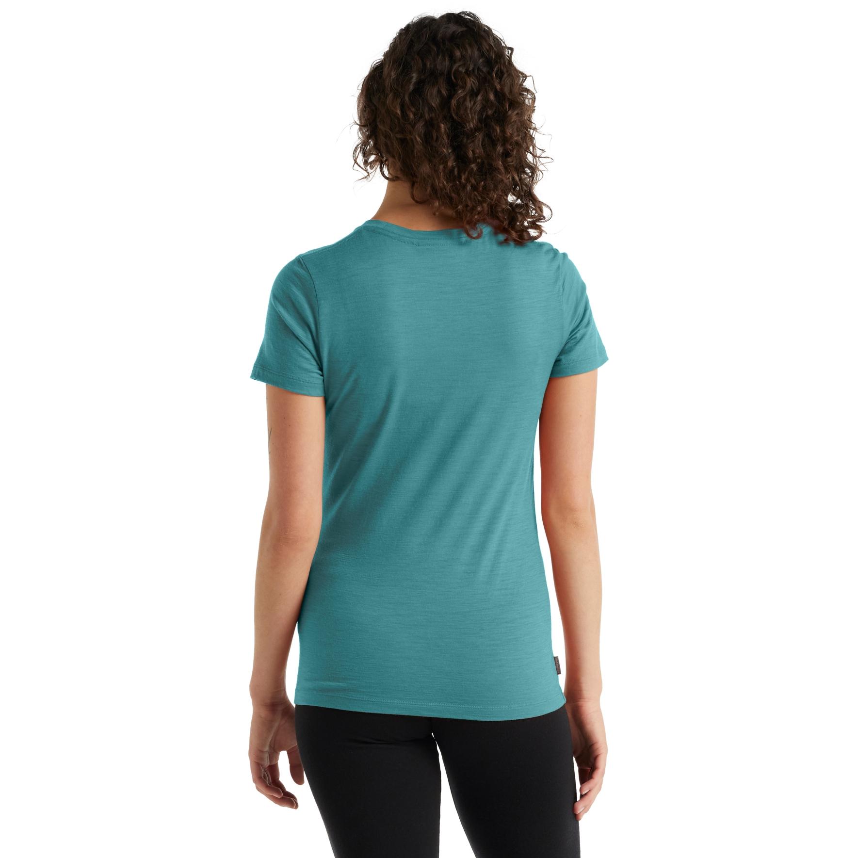 Bild von Icebreaker Tech Lite II Single Line Ski Damen T-Shirt - Arctic Teal