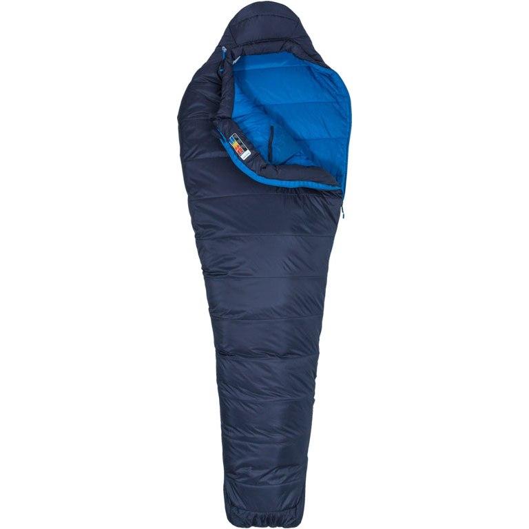 Marmot Ultra Elite 20 Sleeping Bag - zip left - dark steel/lakeside