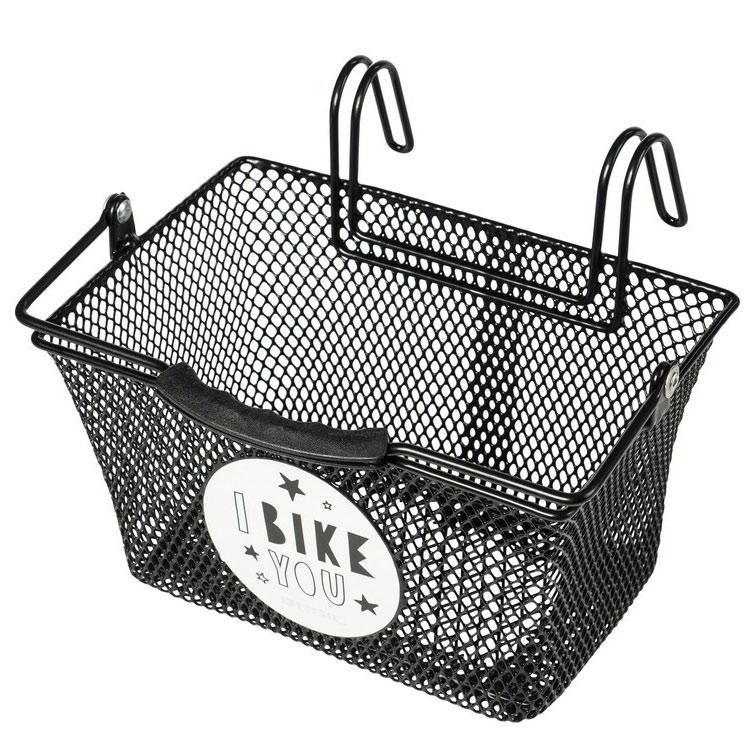 Basil Tivoli Kids Bike Basket - black,  motif