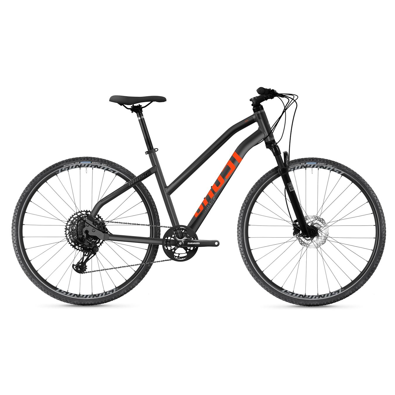 Ghost SQUARE CROSS Essential AL W - Women Crossbike - 2021 - silver / black / orange
