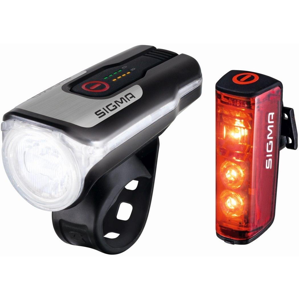 Produktbild von Sigma Sport Aura 80 USB / Blaze Fahrradbeleuchtung