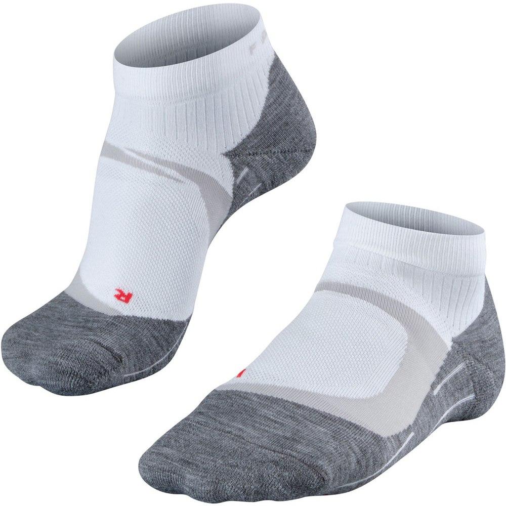 Image of Falke Women RU4 Cool Short Running Socks - white-mix