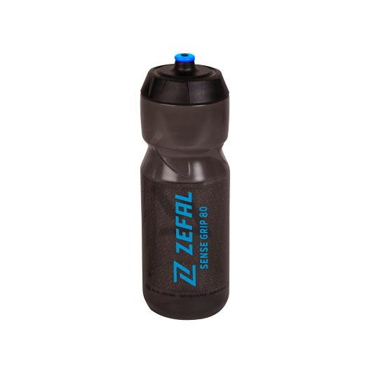 Zéfal Sense Grip 80 Trinkflasche 800ml - smoked black/blue