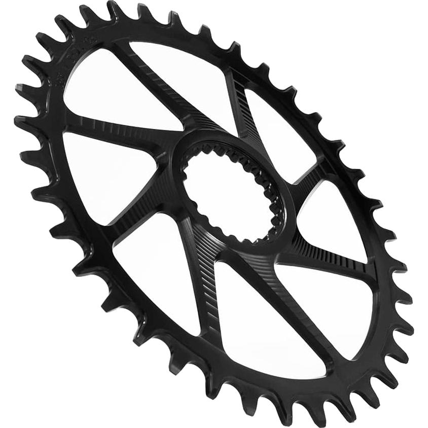 Garbaruk Narrow-Wide Chainring - Shimano XT FC-M8100 / SLX FC-M7100 - round - black