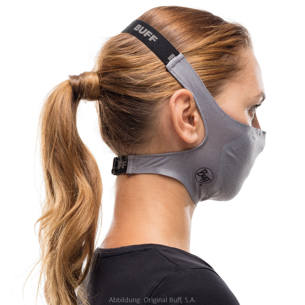 Image of Buff® Filter Mask Protection - Solid Grey Sedona