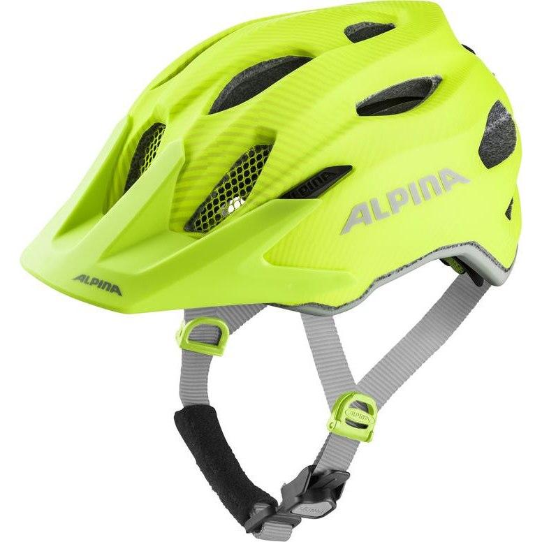 Alpina Carapax JR. Flash Kids Helmet - be visible