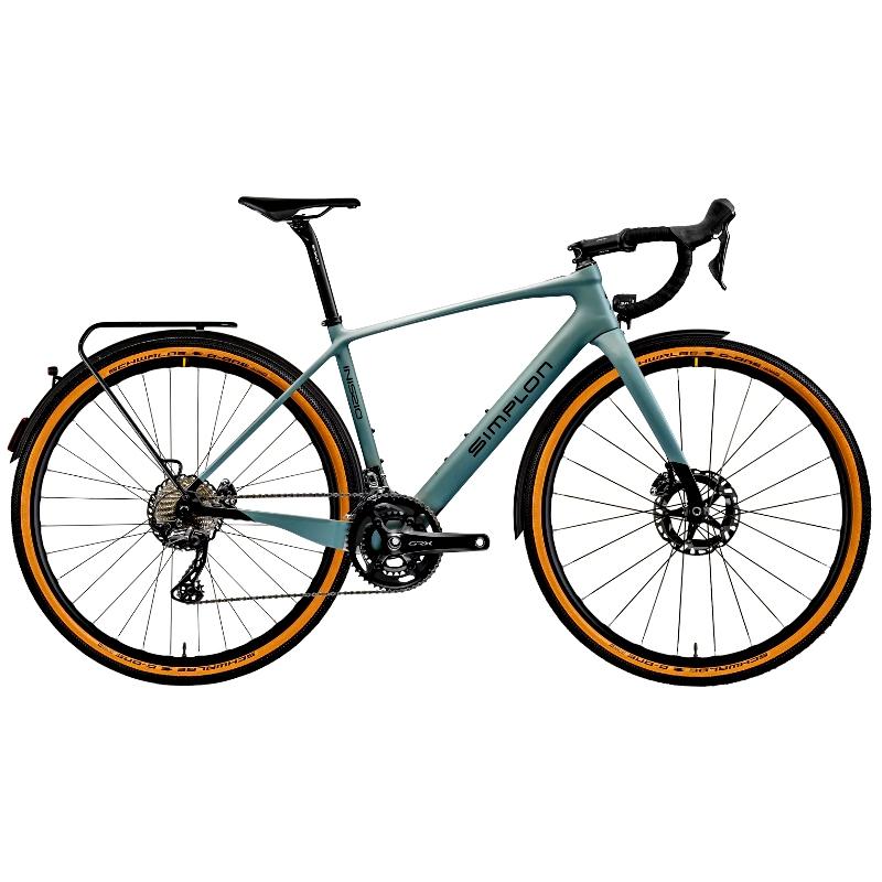 Produktbild von Simplon INISSIO Pmax GRX 810 - Equiped - Gravel E-Bike - 2021 - shady grey matt / black glossy