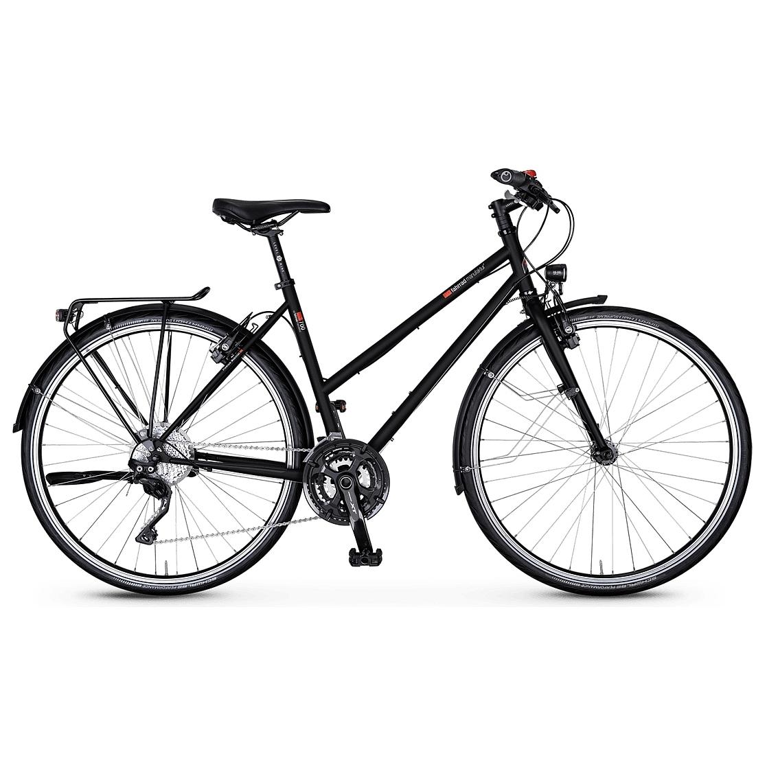 vsf fahrradmanufaktur T-700 HS22 Deore XT - Damen Trekkingrad - 2021 - ebony matt