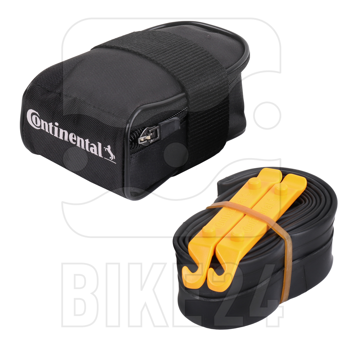 Continental Tube Bag with Tour 28 Tube and 2 Tire Levers Tour