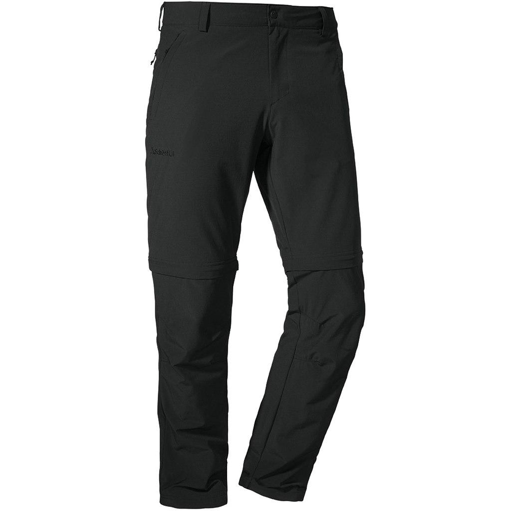 Schöffel Folkstone Zip Off Pants - asphalt 9830