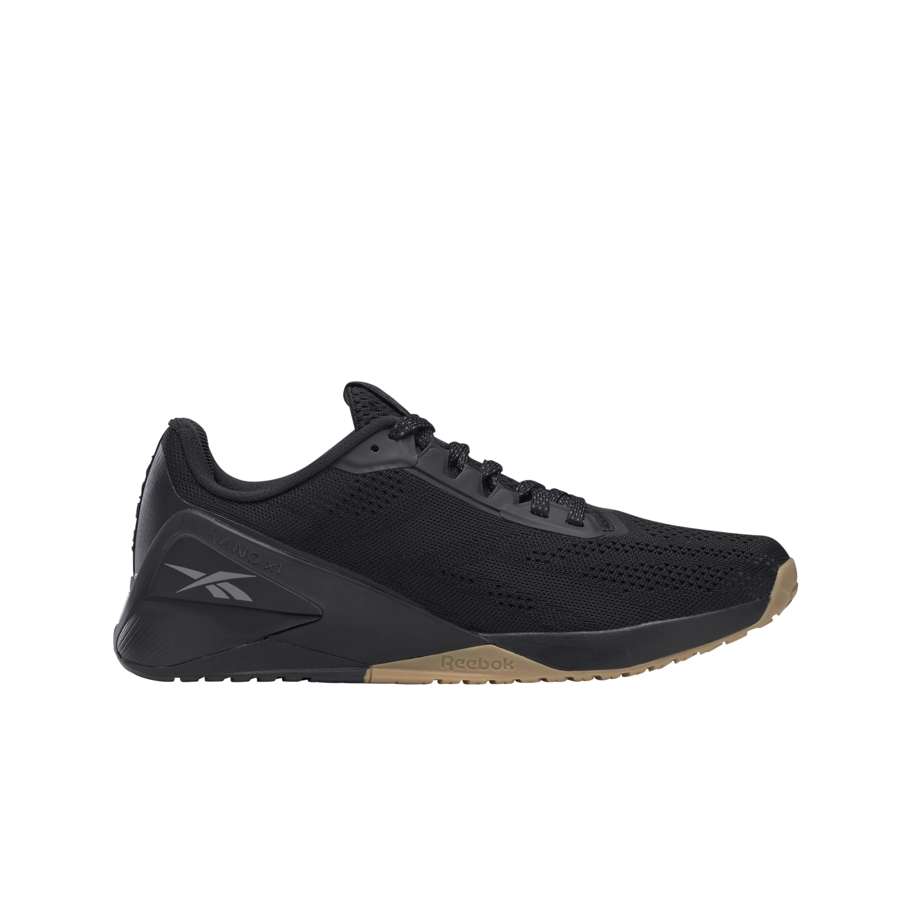 Reebok Nano X1 Herren-Fitnessschuh - black/night black/reebok rubber gum-01 FZ0633
