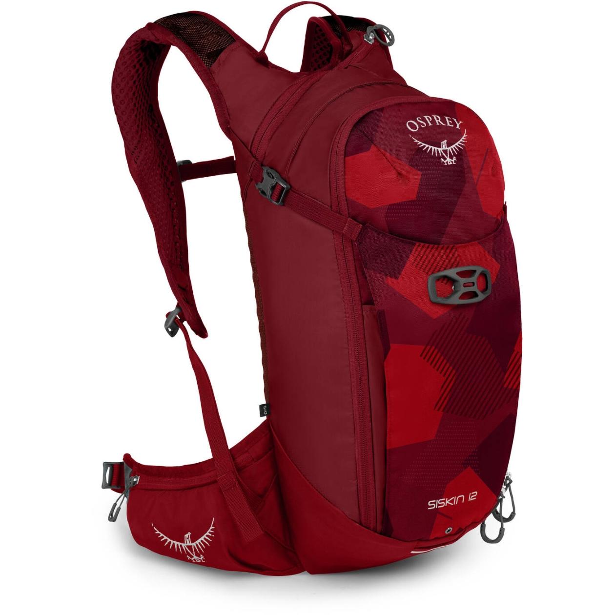 Osprey Siskin 12 Hydration Backpack - Molten Red