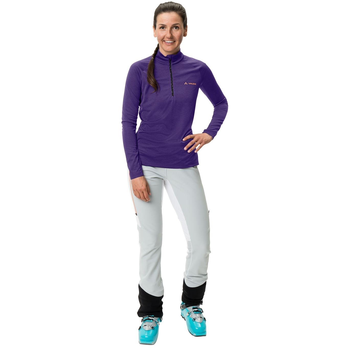 Bild von Vaude Larice Light Shirt II Damenpullover - dark purple