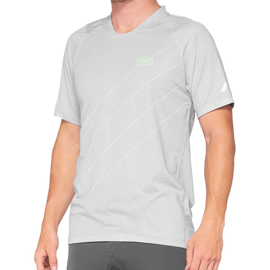 Image of 100% Celium Enduro/Trail Jersey - vapor/lime