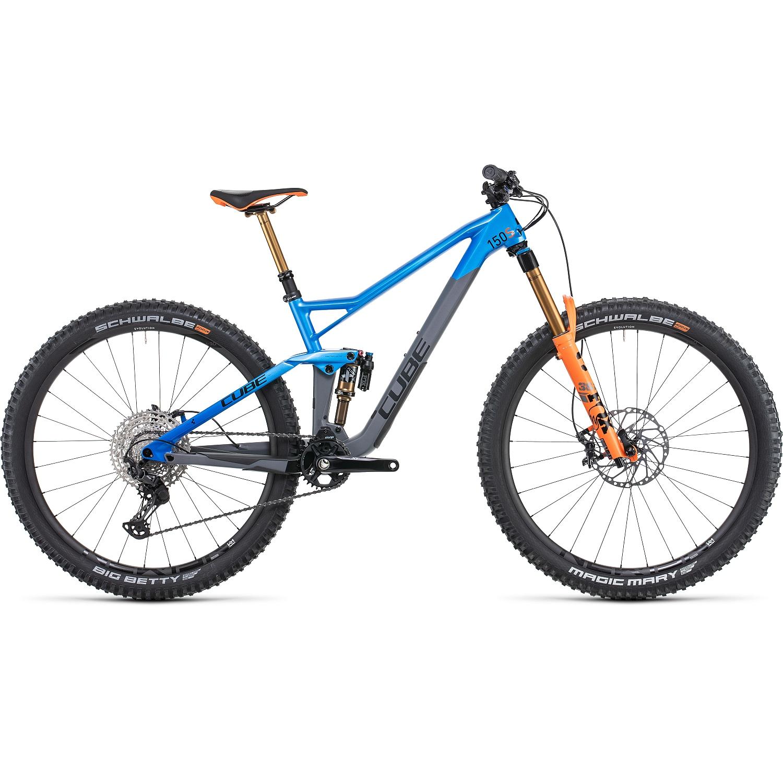 CUBE STEREO 150 C:62 SL - 29 Pulgadas Bicicleta de Montaña de Carbono - 2022 - actionteam A00