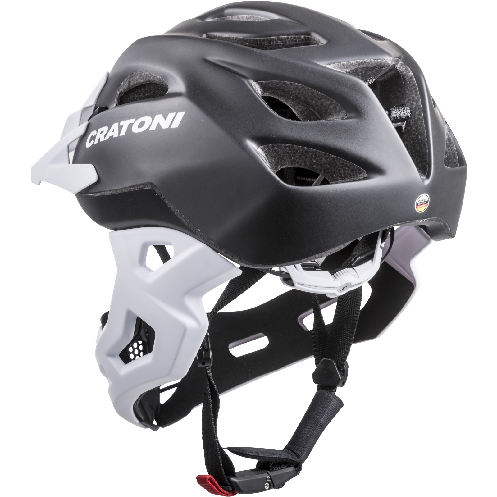 Image of CRATONI C-Maniac Fullface Helmet - black matt