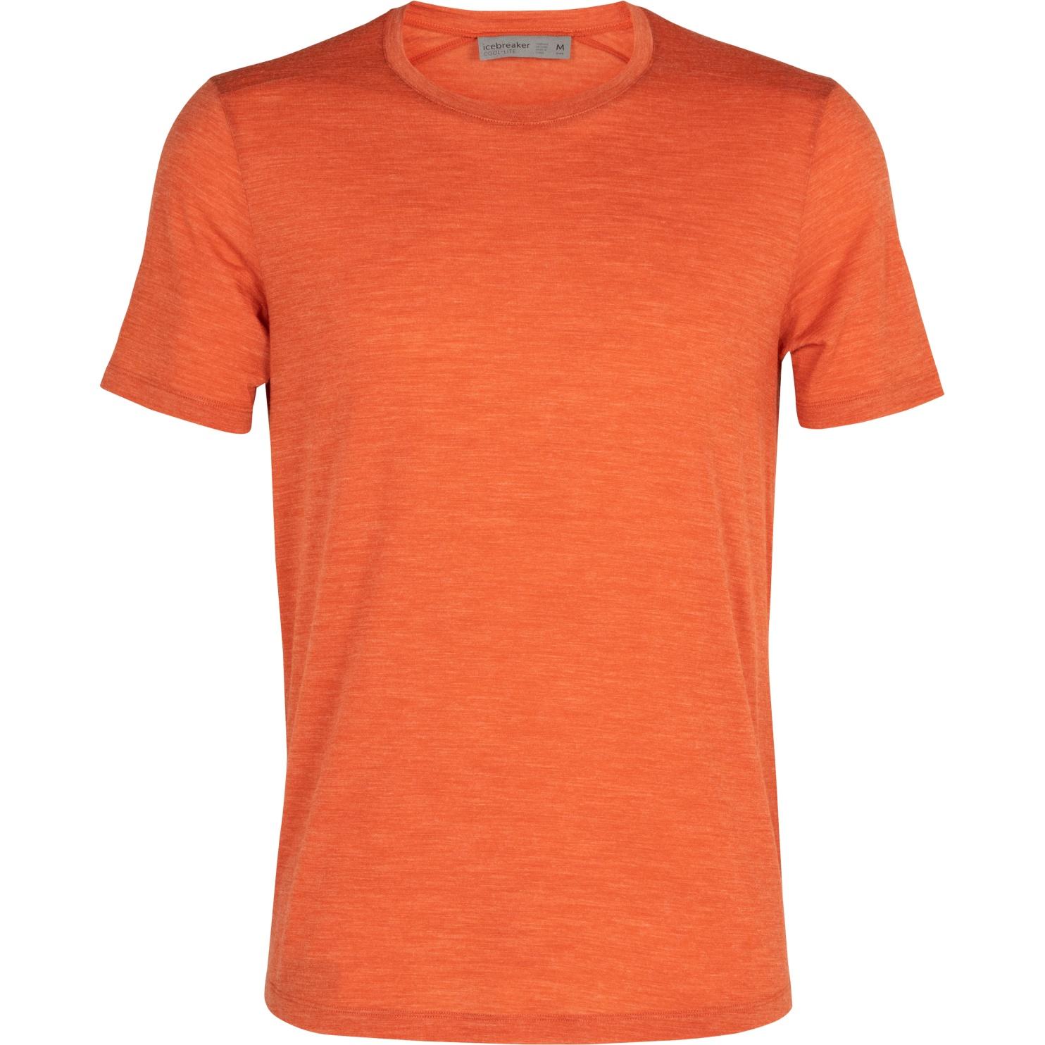 Produktbild von Icebreaker Sphere Crewe Herren T-Shirt - Roote HTHR