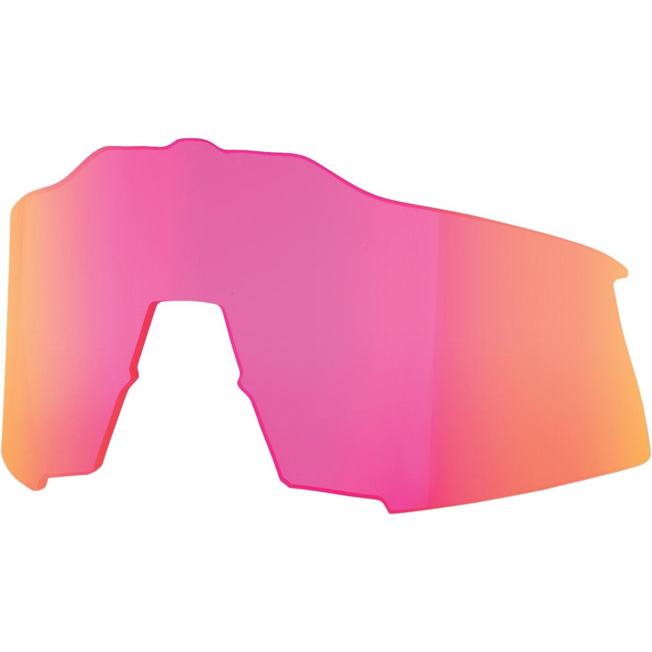 100% Speedcraft Tall Mirror Lente de repuesto - Purple Multilayer Mirror