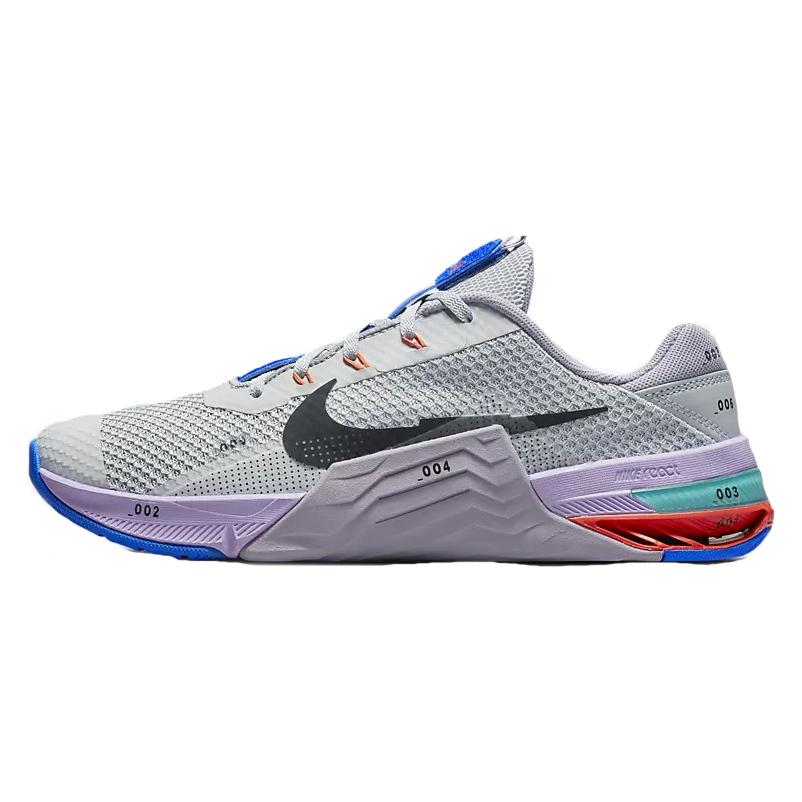 Nike Metcon 7 Herren-Fitnessschuh - lt smoke grey/black-violet haze-lilac CZ8281-005