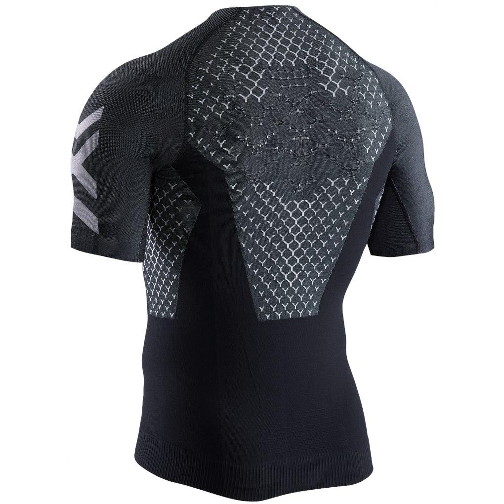 Image of X-Bionic TWYCE 4.0 Run Shirt Short Sleeves for Men - opal black/arctic white