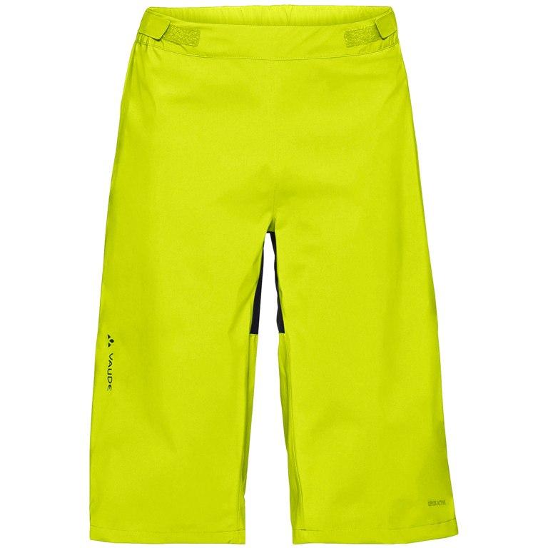 Vaude Men's Moab Rain Shorts - bright green