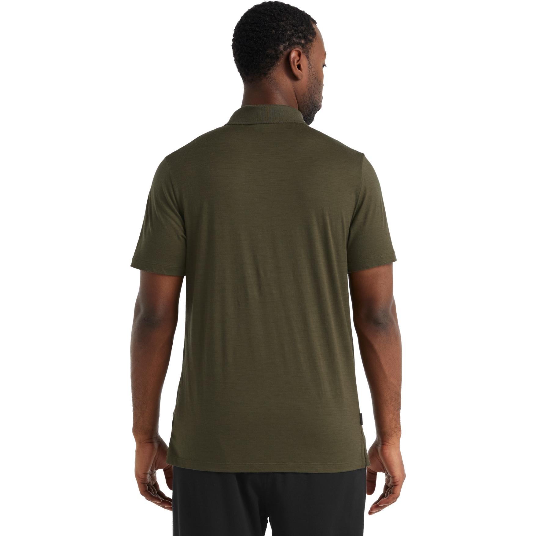 Bild von Icebreaker Tech Lite II Herren Polo-Shirt - Loden