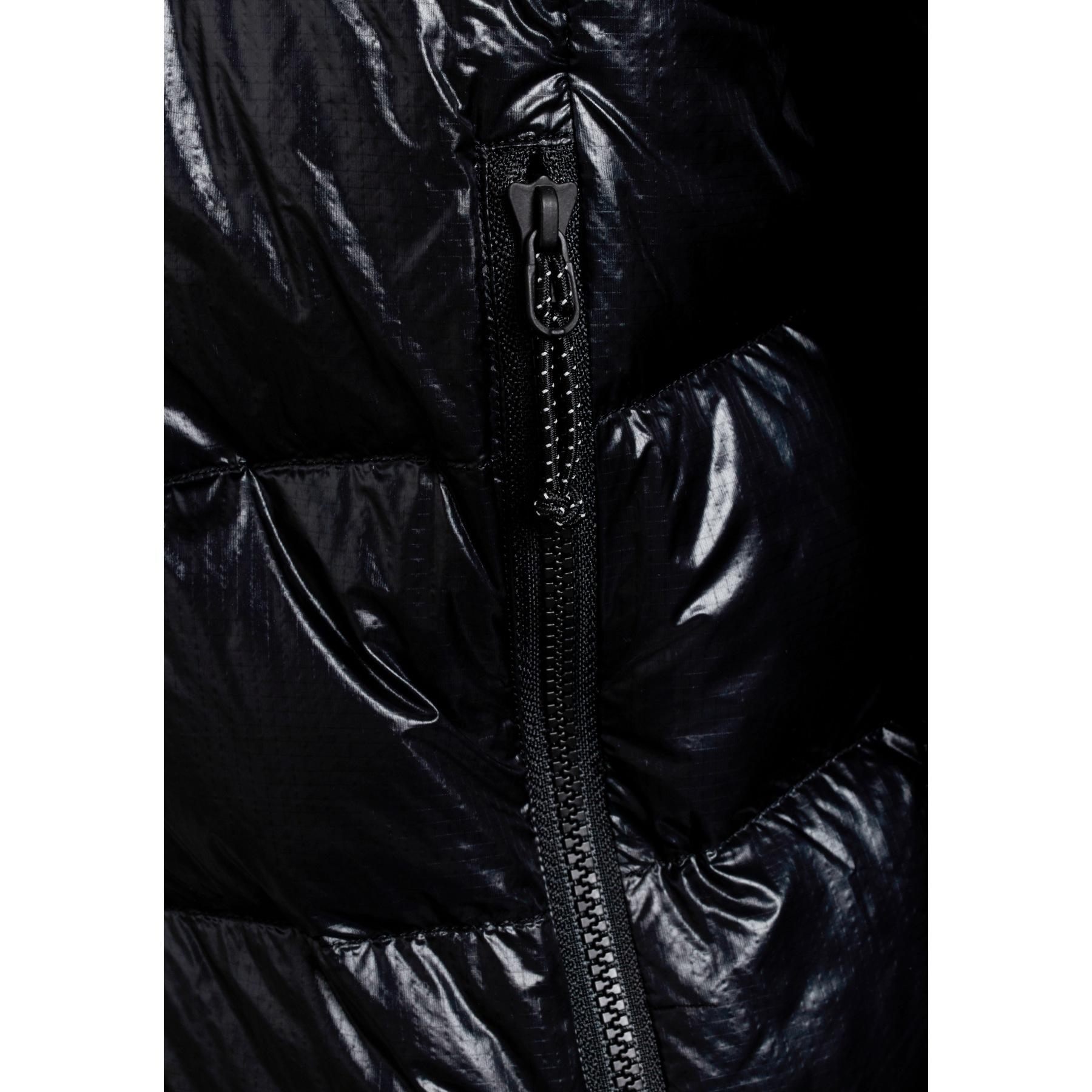Bild von Y by Nordisk Stoke Ultraleichte Daunenjacke mit Kapuze - schwarz