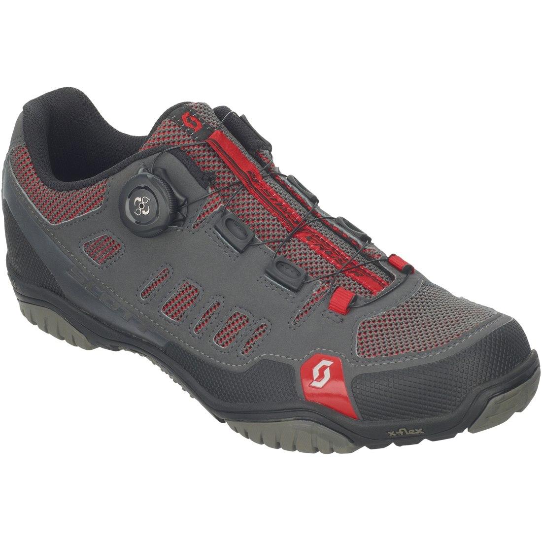 SCOTT Sport Crus-r BOA Schuh - anthracite/red
