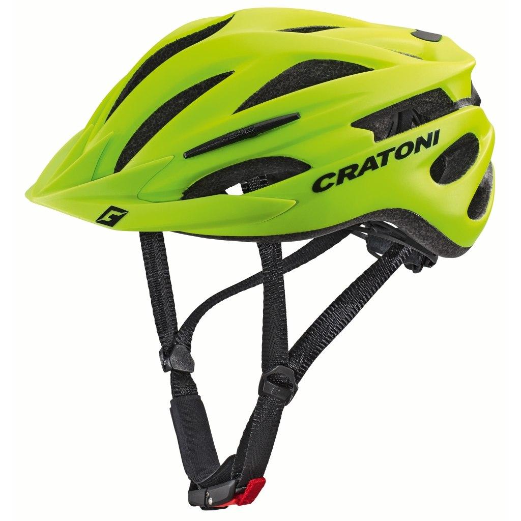 CRATONI Pacer Helmet - lime matt