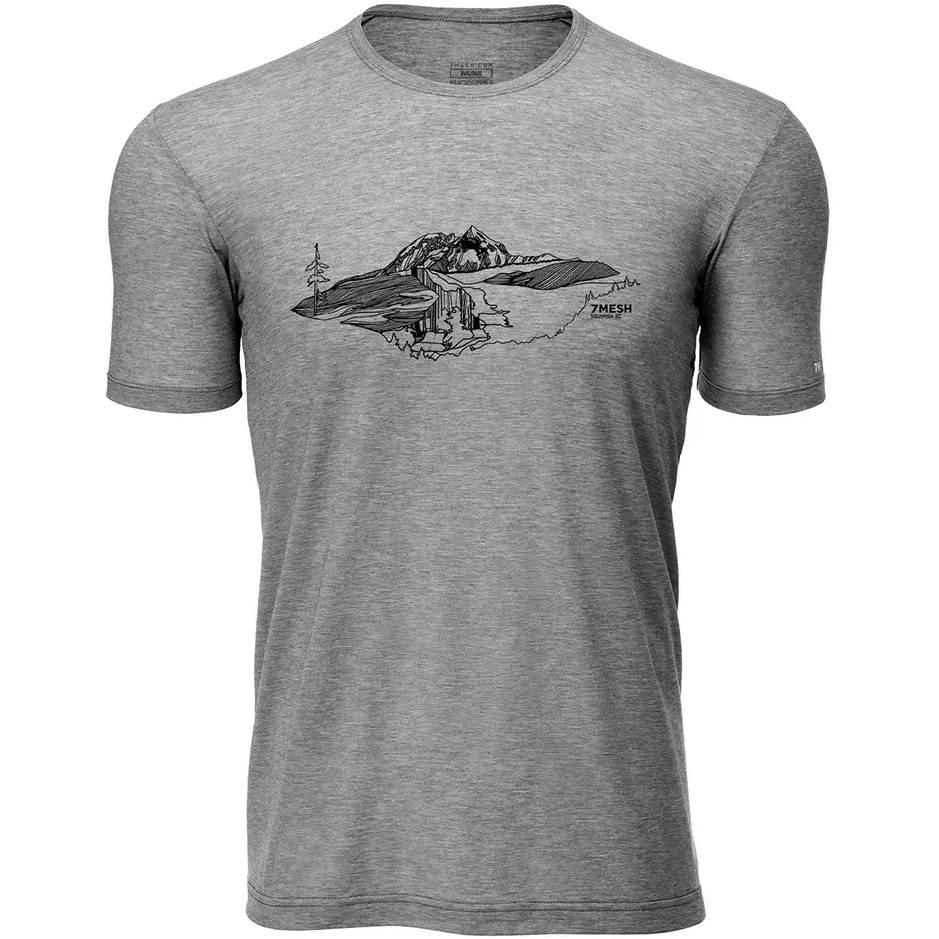 Imagen de 7mesh Elevate Bike Camiseta para hombre - Kate Zessel Series - Pebble Grey