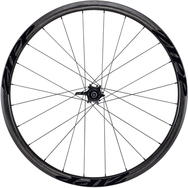 Image of ZIPP 202 Firecrest Tubular 6-Hole Disc Carbon Rear Wheel - 12x135/142mm / QR - Matte Black