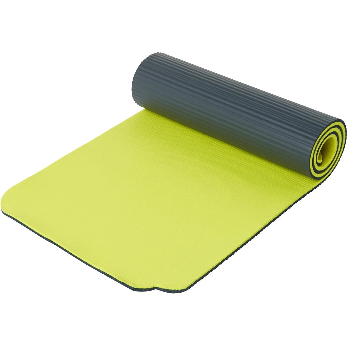 Produktbild von ENERGETICS Gymnastik-Matte NBR Professional - grey/yellow