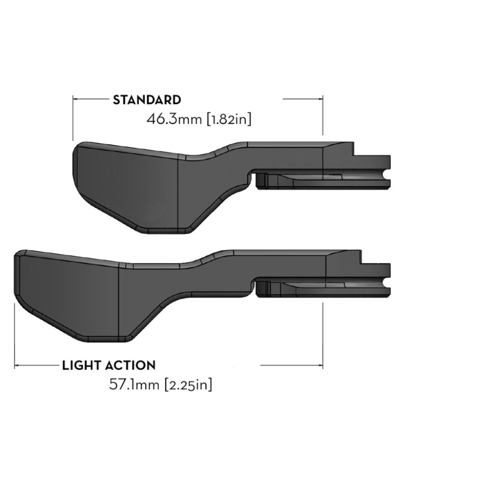 Bild von Wolf Tooth ReMote Vario-Sattelstützen Fernbedienung für Lenkermontage - Limited Edition - KTM orange