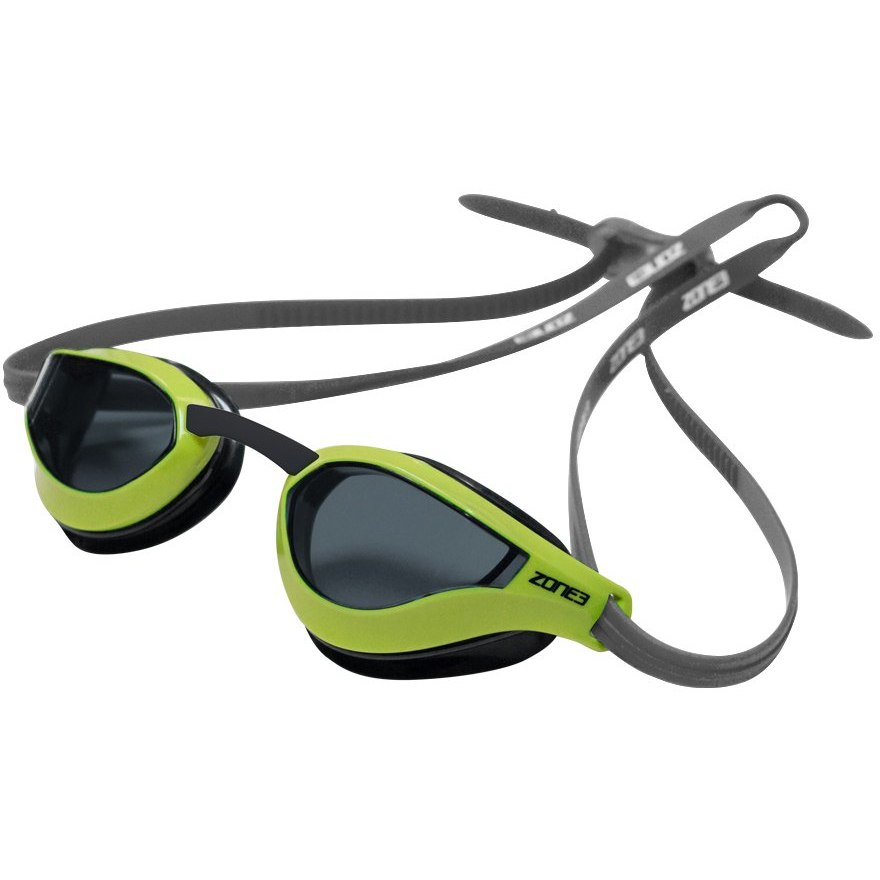 Zone3 Viper Speed Racing Schwimmbrille - grey/lime/black