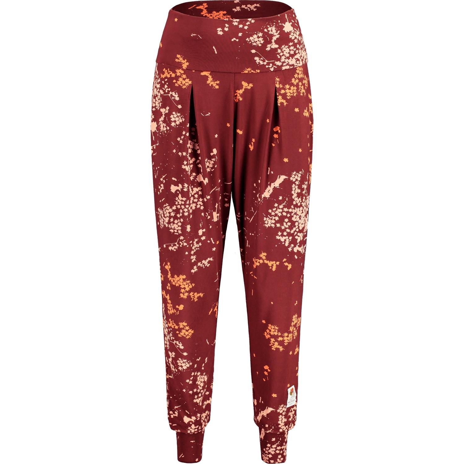 Produktbild von Maloja HoniggrasM. Damen Yoga Pants - squirrel mille fleur 8565