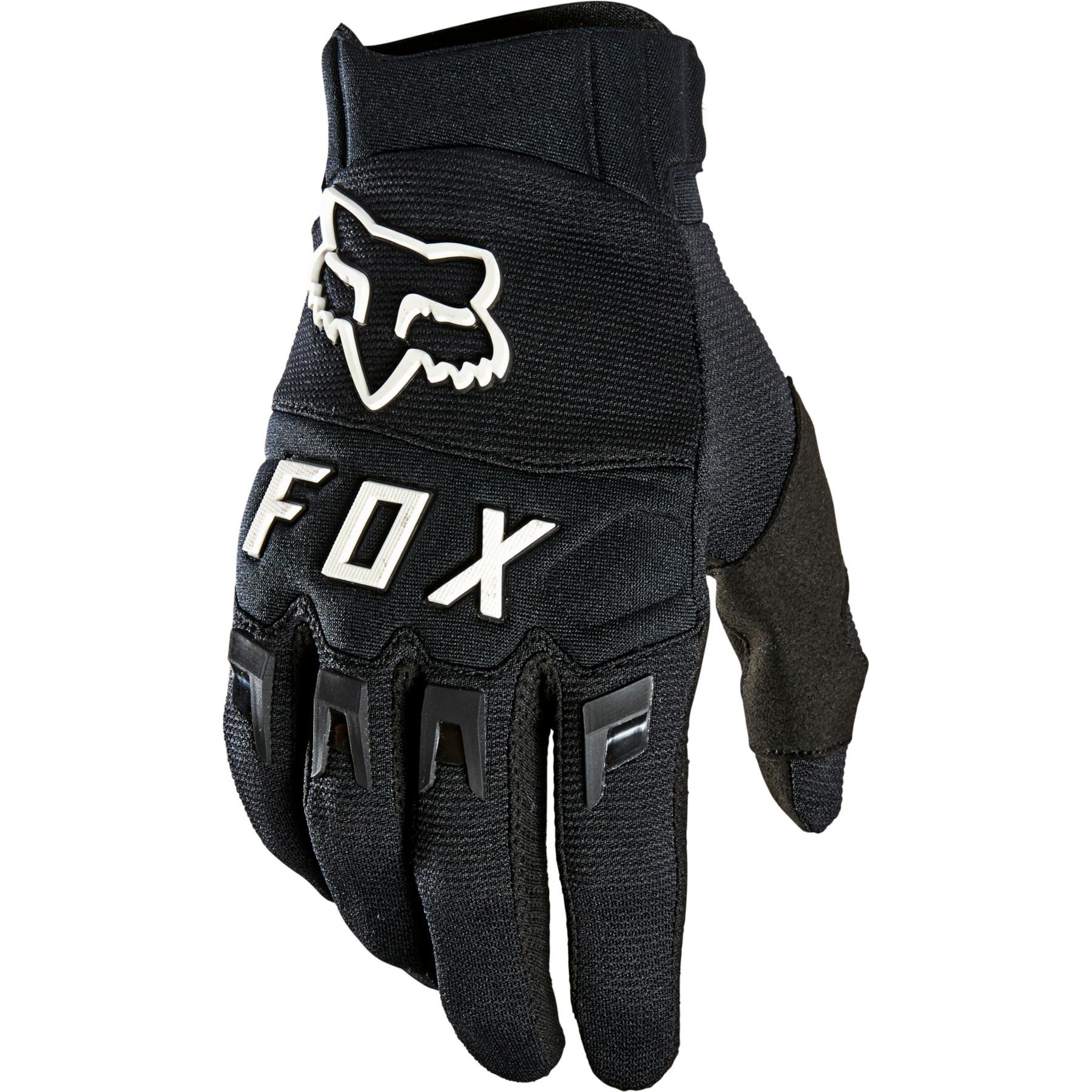 FOX Dirtpaw MTB Vollfinger Handschuh - black/white