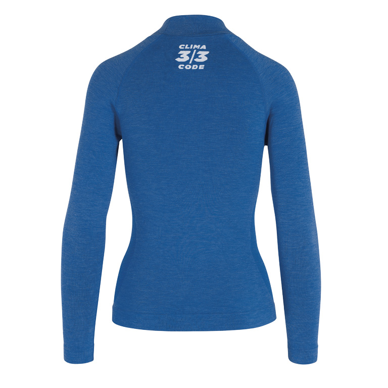 Image of Assos ASSOSOIRES Women's Ultraz Winter LS Skin Layer - Calypso Blu