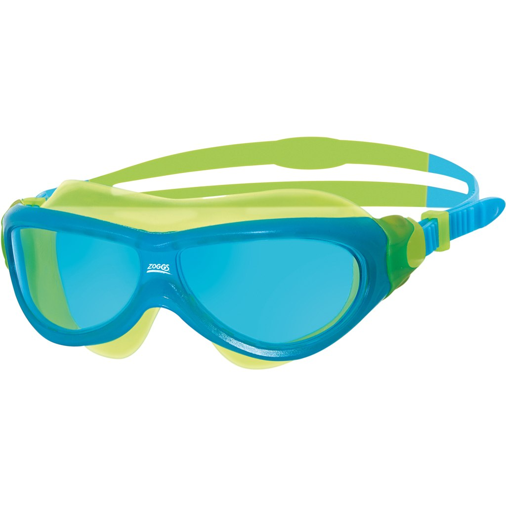Zoggs Phantom Junior Mask Schwimmbrille - Blue/Yellow/Tint