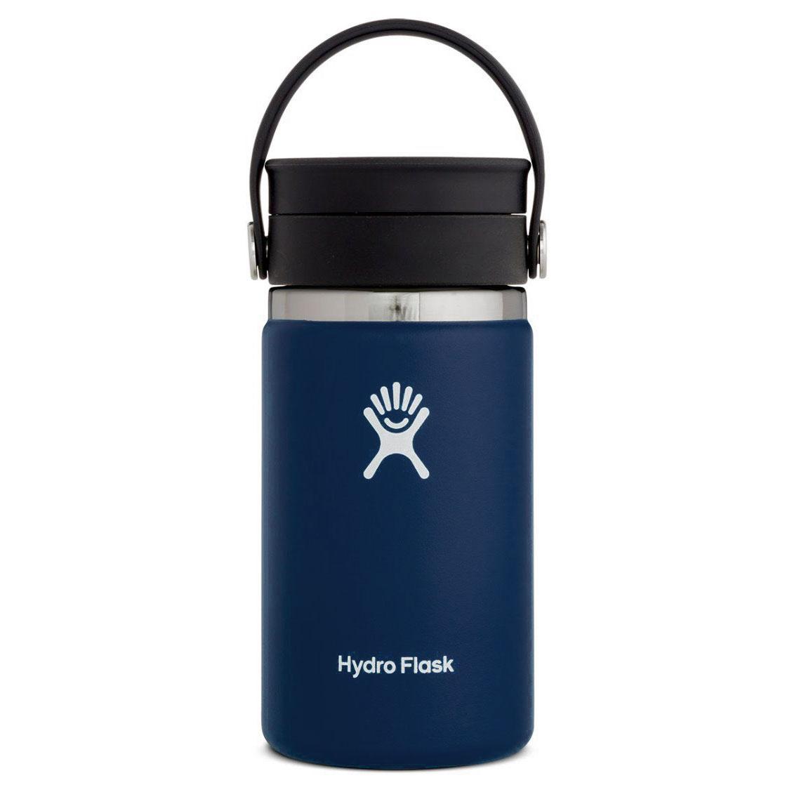 Produktbild von Hydro Flask 12 oz Wide Mouth Coffee Kaffeebecher mit Flex Sip Deckel - 354 ml - Cobalt
