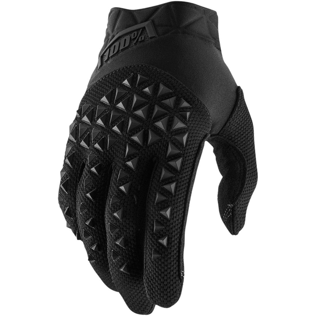 100% Airmatic Guantes - black/charcoal