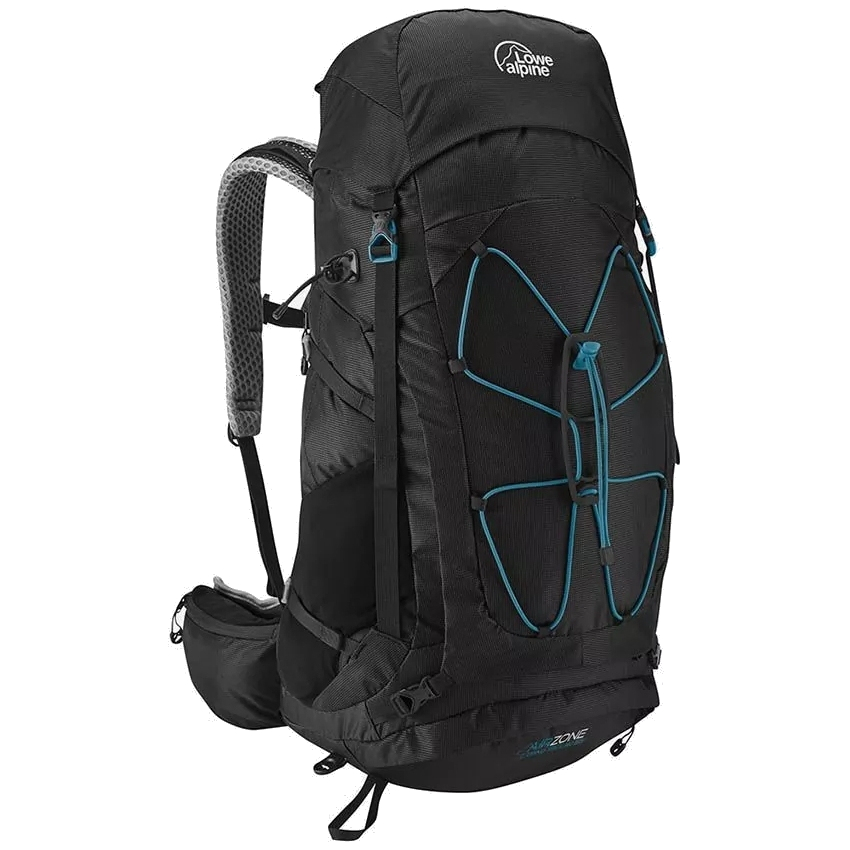 Lowe Alpine AirZone Camino Trek 40:50 Backpack Large - Black